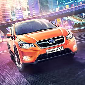 Subaru XV<span>Серия креативов для обширной рекламной кампании Subaru</span>