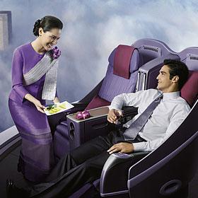 Thai Royal Silk<span>Дизайн ориентирован на людей летающих первым классом</span>