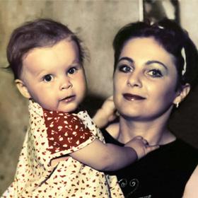 Реставрация цветной фотографии<span>Реставрация и восстановление семейной фотографии. 1986 год.</span>