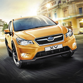 Реклама Subaru XV<span>Рекламный макет для прессы</span>