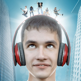 Рекламный постер<span>Постер для дилера аудиотехники</span>