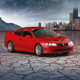Pontiac<span>Рекламный постер</span>