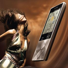 Sony Audio<span>Рекламный макет</span>