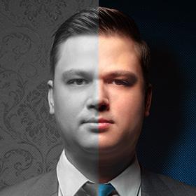 Юрист Андрей Мищенко<span>Ретушь фотографии</span>